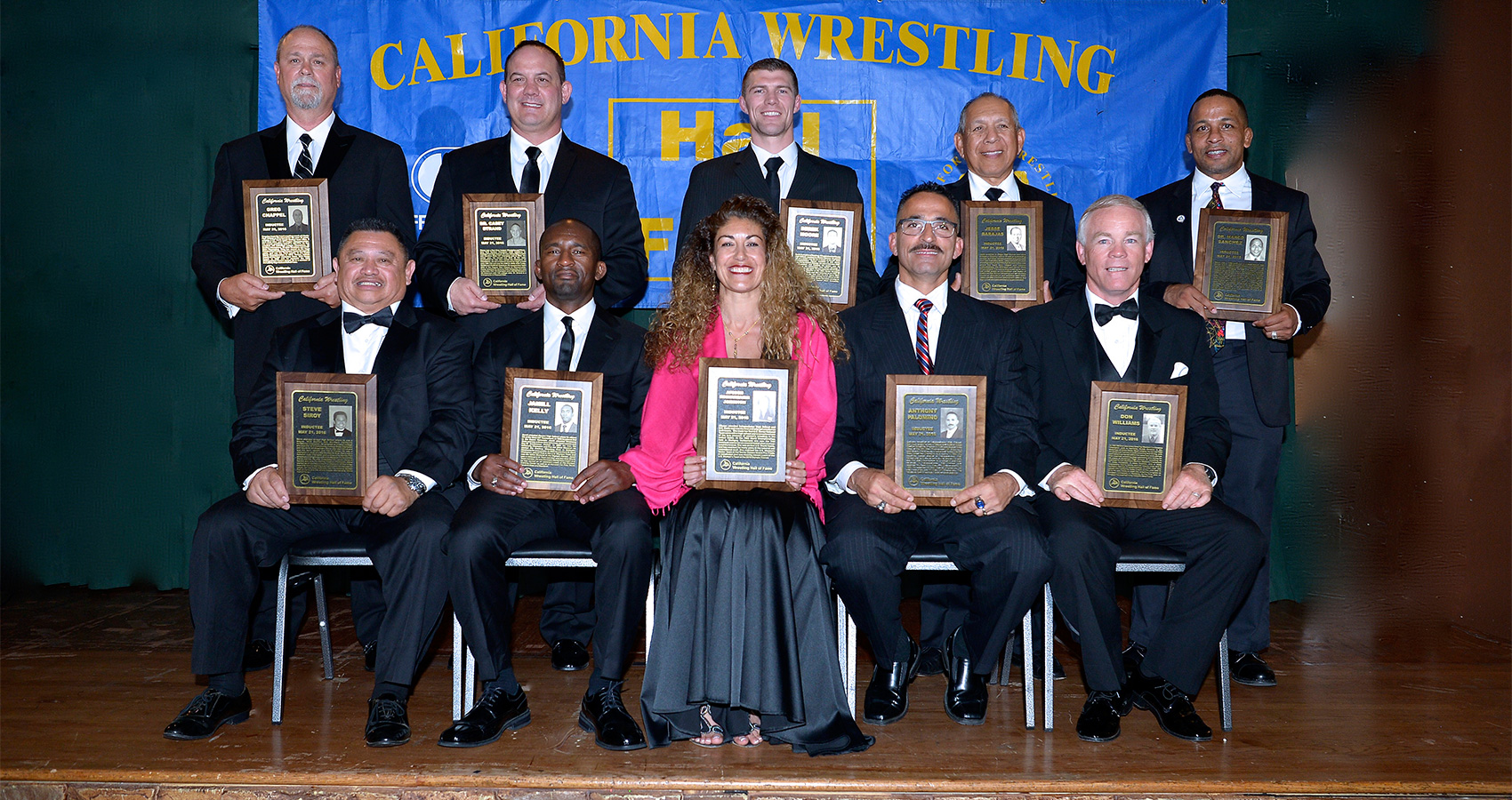 2016 California Wrestling Inductees